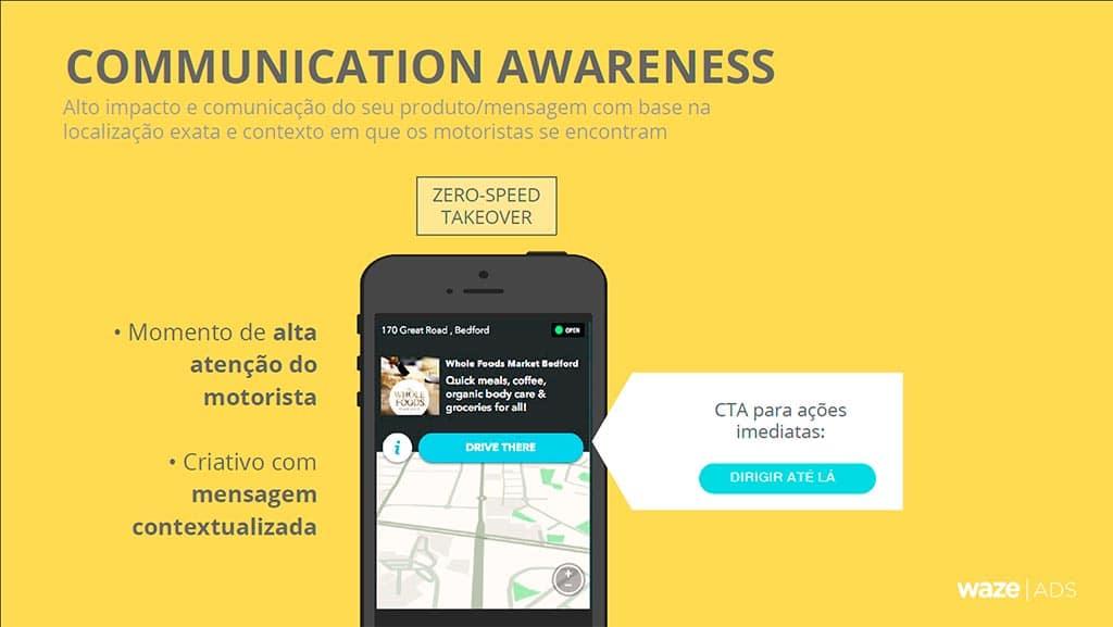 Waze - Communication Awareness