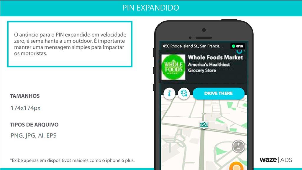 Waze - PIN Expandido