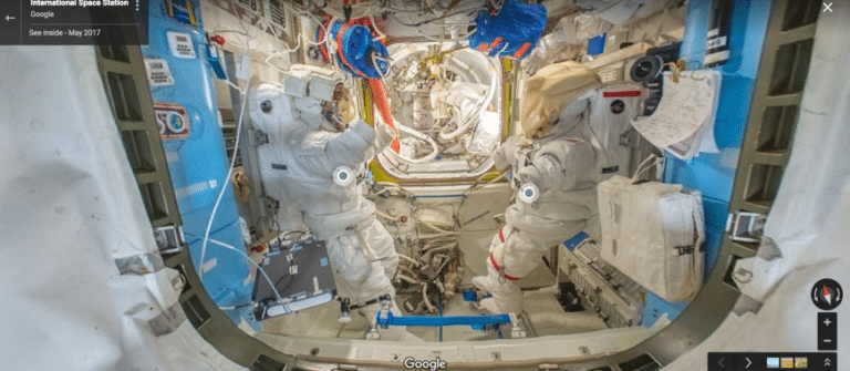 Faça Um Tour Virtual 360º na Estação Espacial Internacional Com o Google Street View