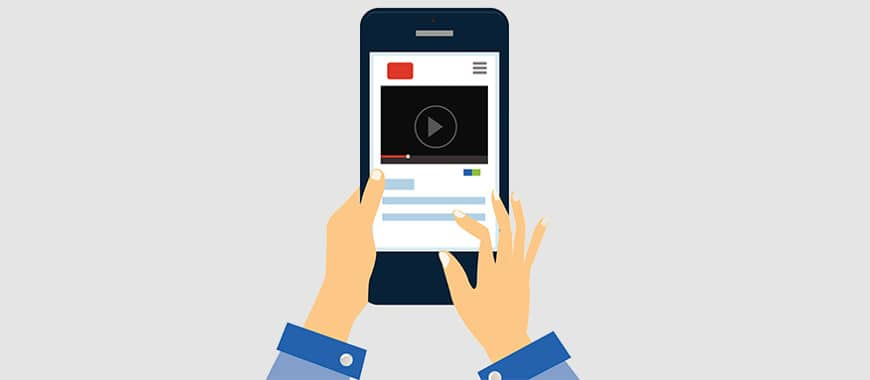Anúncios em vídeos out-stream