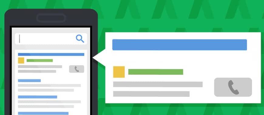 Anúncios somente para chamadas do Google Ads foram atualizados