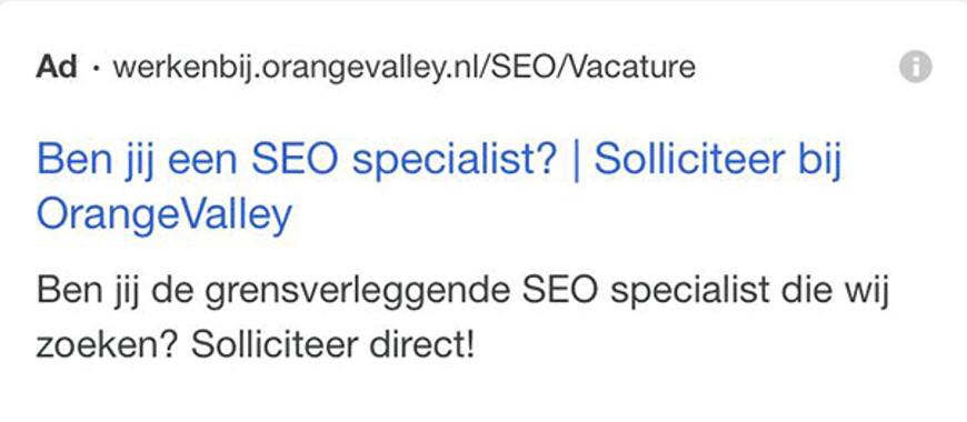 """Google Ads Exibe Etiqueta """"Anúncio"""" Com Caracteres Pretos"""