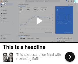 Vídeos em Anúncios Gráficos Responsivos