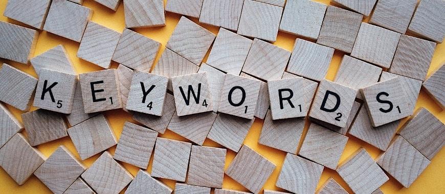 o que são as palavras-chave?