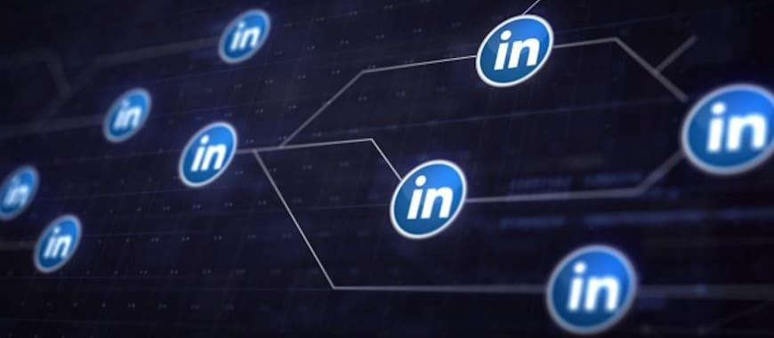 anúncios em conversa LinkedIn