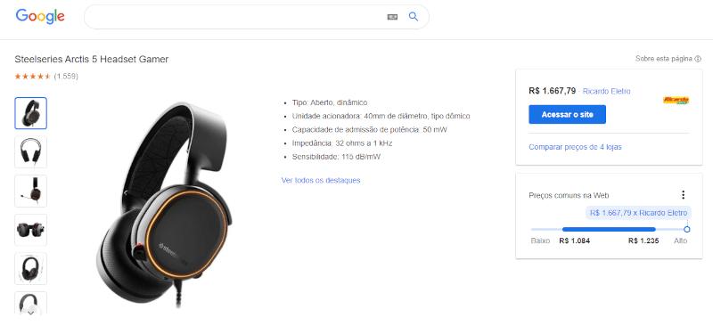 exemplo página de produto
